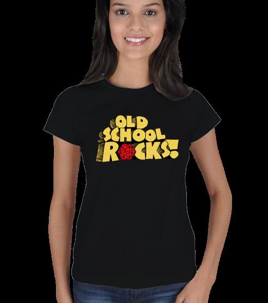 OLDSCHOOL ROCKS Bayan Ti��rt